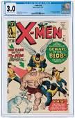 """X-MEN"" #3 JANUARY 1964 CGC 3.0 GOOD/VG (FIRST BLOB)."