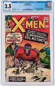 """X-MEN"" #4 MARCH 1964 CGC 3.5 VG- (FIRST QUICKSILVER,"