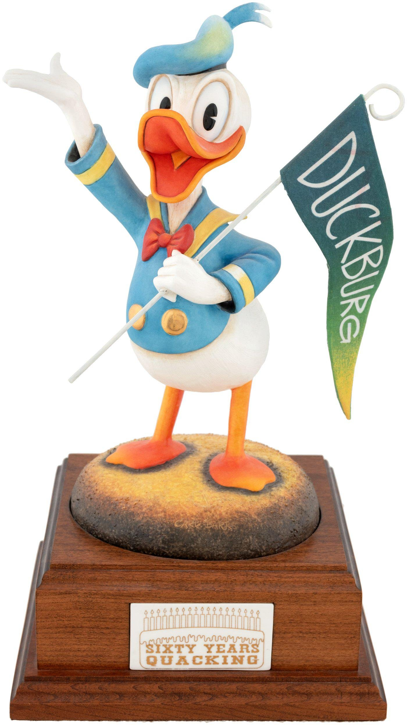 """CARL BARKS DONALD DUCK """"SIXTY YEARS QUACKING"""" LIMITED"""