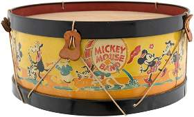 MICKEY MOUSE BAND DRUM LARGEST SIZE VARIETY