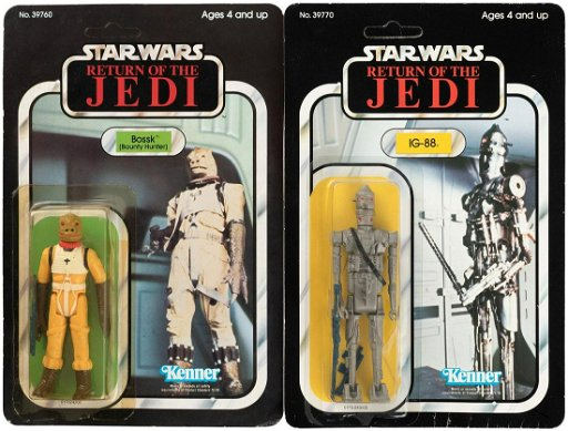 Star Wars Return Of The Jedi Carded Bounty Hunter