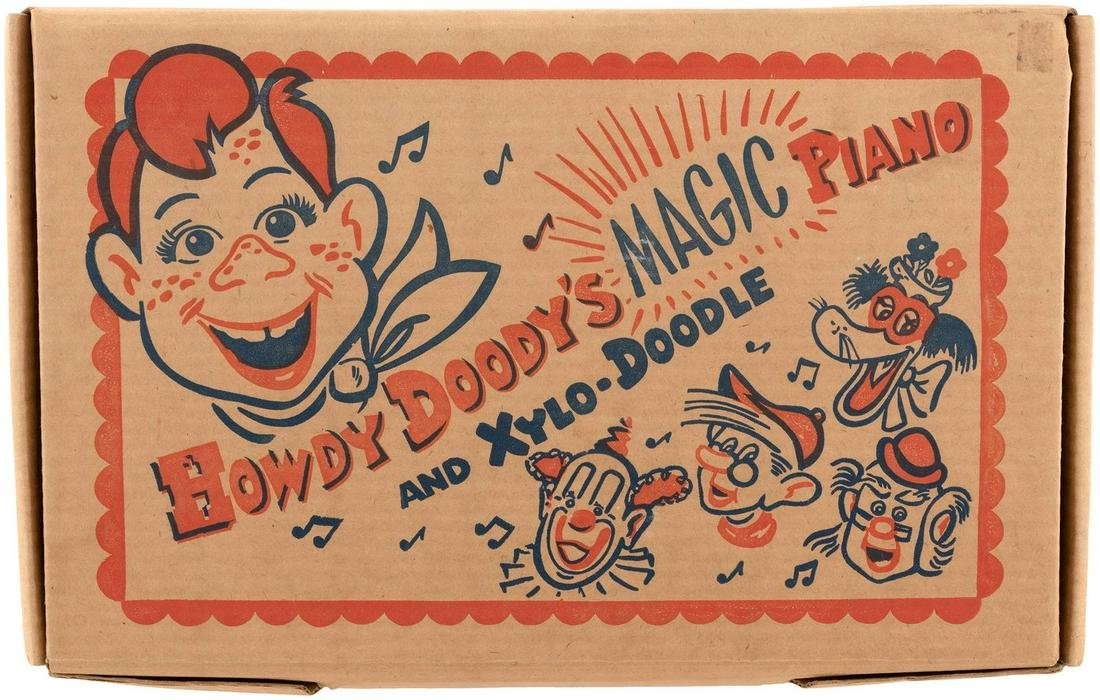 """HOWDY DOODY'S MAGIC PIANO AND XYLO-DOODLE"" BOXED"