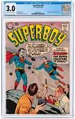 """SUPERBOY"" #68 OCTOBER 1958 CGC 3.0 G/VG (FIRST"