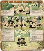 """JUNGLE IMPS """"WHY THE PARROT LEARNED TO TALK"""" 1903"""