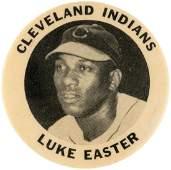 """C. 1949 LUKE EASTER """"CLEVELAND INDIANS"""" PM10 STADIUM"""