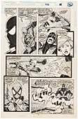 """SPECTACULAR SPIDER-MAN"" #212 COMIC BOOK PAGE ORIGINAL"