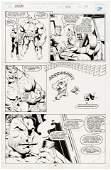 """""""INCREDIBLE HULK"""" VOL. 1 #410 COMIC BOOK PAGE ORIGINAL"""