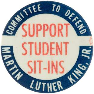 """""""COMMITTEE TO DEFEND MARTIN LUTHER KING SUPPORT STUDENT"""