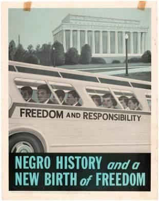 """""""NEGRO HISTORY AND NEW BIRTH OF FREEDOM"""" BUSSING CIVIL"""