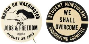 """""""MARCH ON WASHINGTON FOR JOBS & FREEDOM"""" & SNCC """"WE"""