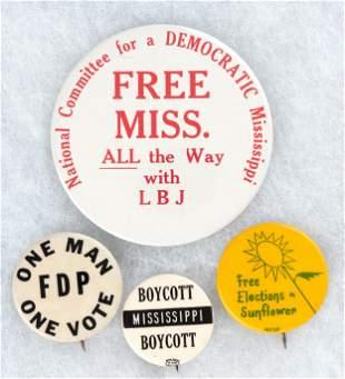 QUARTET OF MISSISSIPPI FREEDOM DEMOCRATIC PARTY CIVIL