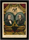 DOUGLAS & JOHNSON 1860 GRAND NATIONAL BANNER JUGATE