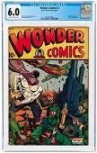 WONDER COMICS #2 AUGUST 1944 CGC 6.0 FINE.