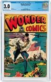 WONDER COMICS #6 OCTOBER 1945 CGC 3.0 GOOD/VG.