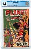PLANET COMICS #59 MARCH 1949 CGC 4.5 VG+.