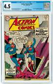 ACTION COMICS #252 MAY 1959 CGC 4.5 VG+ (FIRST