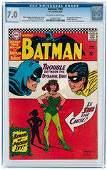 BATMAN #181 JUNE 1966 CGC 7.0 FINE/VF (FIRST POISON