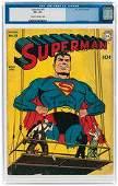 SUPERMAN #21 MARCH-APRIL 1943 CGC 4.5 VG+.