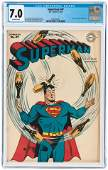 SUPERMAN #47 JULY-AUGUST 1947 CGC 7.0 FINE/VF.