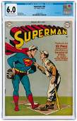 SUPERMAN #60 SEPTEMBER-OCTOBER 1949 CGC 6.0 FINE.