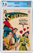 SUPERMAN #67 NOVEMBER-DECEMBER 1950 CGC 7.5 VF-.