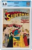 SUPERMAN #71 JULY-AUGUST 1951 CGC 6.0 FINE.