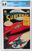 SUPERMAN #72 SEPTEMBER-OCTOBER 1951 CGC 6.0 FINE.