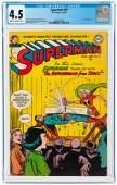 SUPERMAN #81 MARCH-APRIL 1953 CGC 4.5 VG+.