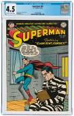 SUPERMAN #83 JULY-AUGUST 1953 CGC 4.5 VG+.