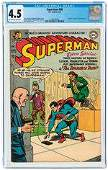 SUPERMAN #88 MARCH 1954 CGC 4.5 VG+.