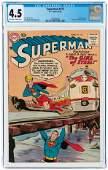 SUPERMAN #123 AUGUST 1958 CGC 4.5 VG+.