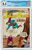 SUPERMAN'S PAL JIMMY OLSEN #6 JULY-AUGUST 1955 CGC 5.5