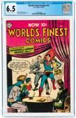 WORLD'S FINEST COMICS #73 NOVEMBER-DECEMBER 1954 CGC