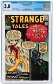 STRANGE TALES #110 JULY 1963 CGC 3.0 GOOD/VG (FIRST