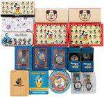 DONALD DUCK MODERN WATCHES EXTENSIVE COLLECTION OF 21