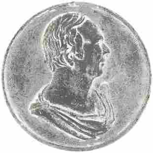 HENRY CLAY HIGH RELIEF PORTRAIT MEDAL DeWITT 1832-1.