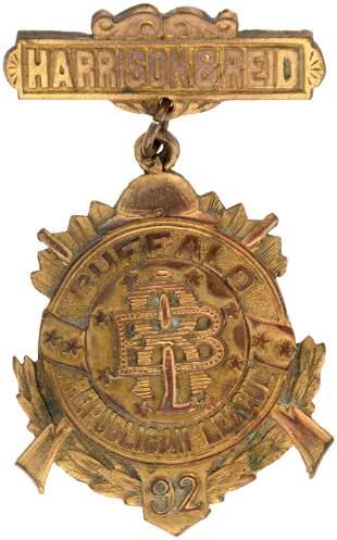 HARRISON & REID BUFFALO REPUBLICAN LEAGUE 1892 CAMPAIGN