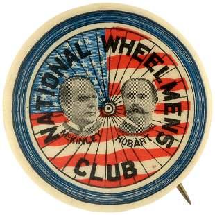 NATIONAL WHEELMEN'S CLUB McKINLEY & HOBART JUGATE