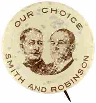 OUR CHOICE SMITH AND ROBINSON 1928 JUGATE BUTTON HAKE
