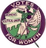 "RARE ""WOMEN'S POLITICAL UNION"" SUFFRAGE CLARION"