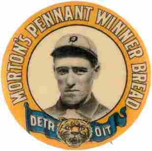 1910 MORTON'S PENNANT WINNER BREAD DETROIT TIGERS DONIE