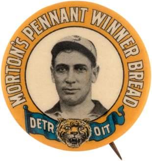 1910 MORTON'S PENNANT WINNER BREAD DETROIT TIGERS ED