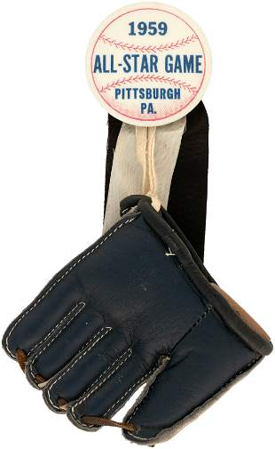 """1959 MLB ALL-STAR GAME """"PITTSBURGH PA."""" BUTTON"""