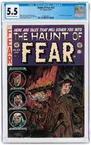 HAUNT OF FEAR #25 MAY-JUNE 1954 CGC 5.5 FINE-.