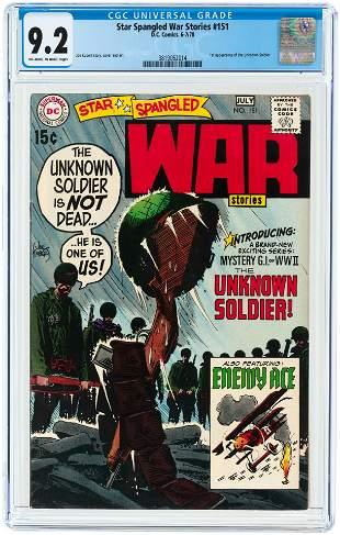 STAR SPANGLED WAR STORIES #151 JUNE-JULY 1970 CGC 9.2
