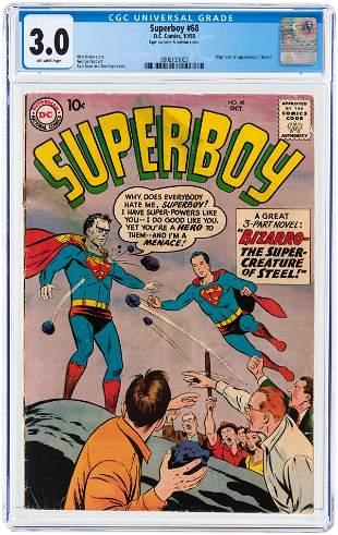 SUPERBOY #68 OCTOBER 1958 CGC 3.0 GOOD/VG (FIRST