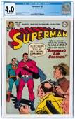 SUPERMAN #80 JANUARY-FEBRUARY 1953 CGC 4.0 VG.
