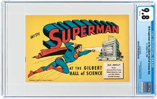 WITH SUPERMAN AT THE GILBERT HALL OF SCIENCE #NN 1948