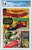 AMAZING SPIDER-MAN #14 JULY 1964 CGC 7.0 FINE/VF (FIRST