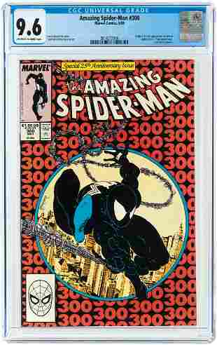 AMAZING SPIDER-MAN #300 MAY 1988 CGC 9.6 NM (FIRST